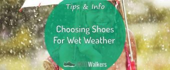 4 Tips for Choosing Wet Weather Walking Shoes