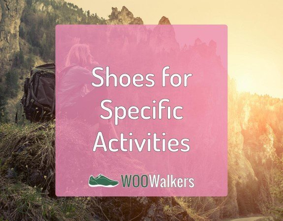 Women Shoes for Specific Activities