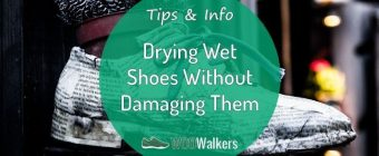 How to Dry Wet Shoes Without Damaging Them