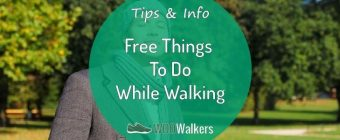 20 Free Things to do While Walking