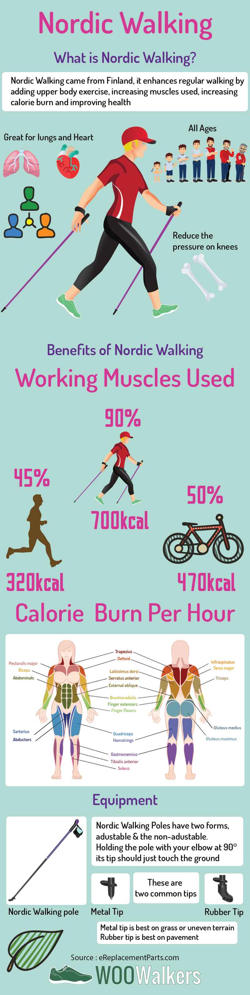 Walking for Fitness with Nordic Walking